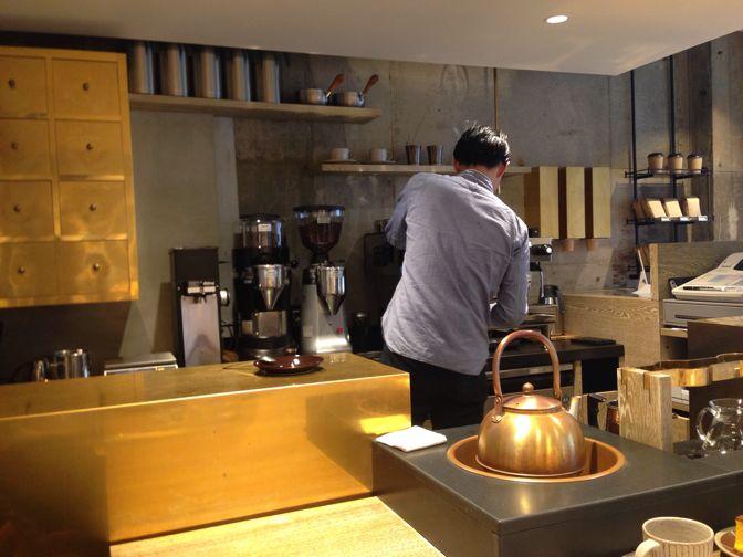 COBI COFFEEのバリスタ