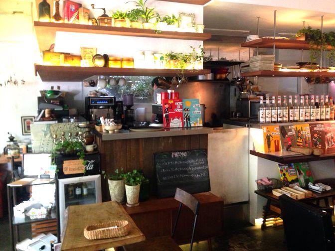 ケヤキカフェのキッチン