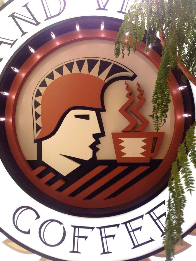 アイランドヴィンテージコーヒーの看板