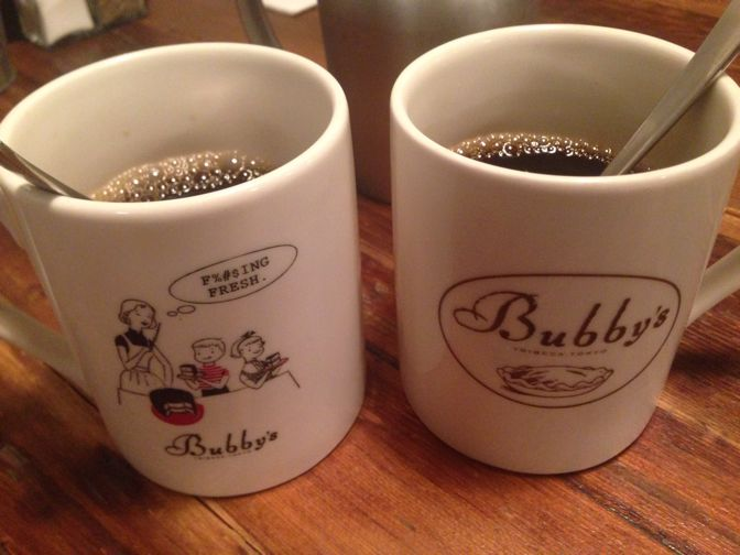 Bubby'sヤエチカのホットコーヒー