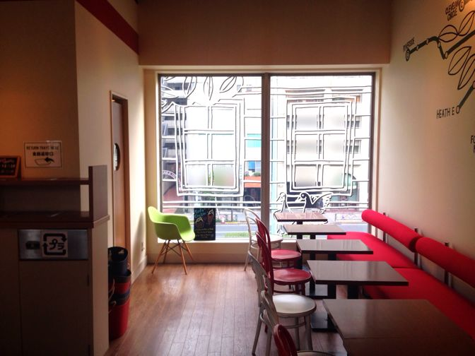 パークストリートカフェの内装