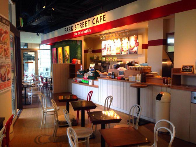 パークストリートカフェの店内
