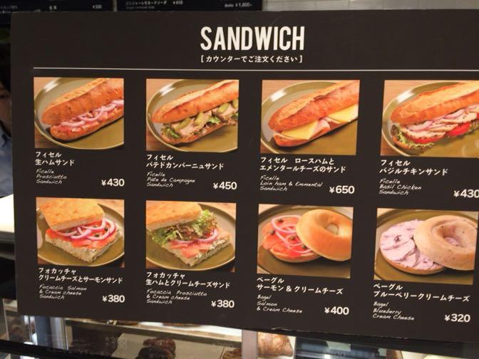 THE 3RD CAFEのサンドウィッチ