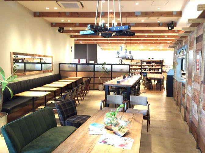 THE 3RD CAFEのソファ席
