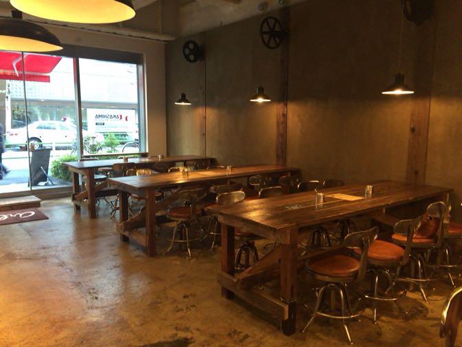 Artistree Cafeの家具