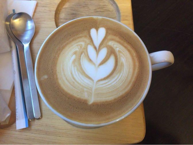 ハリッツのカフェラテ