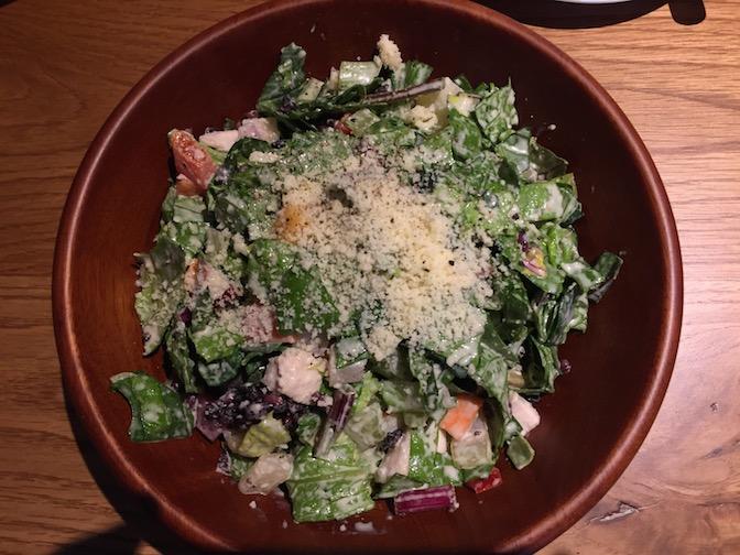 雑穀米と野菜のチョップサラダ